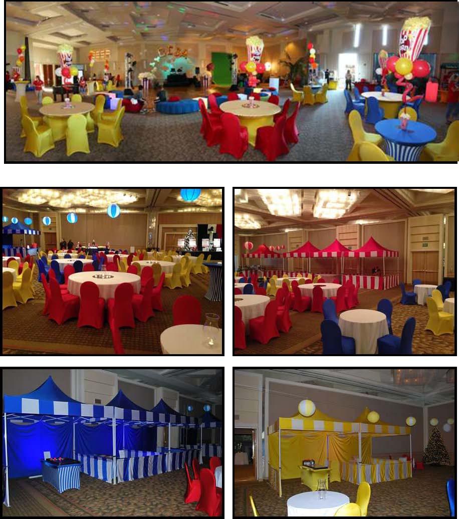 Theme Party Carnival Decor